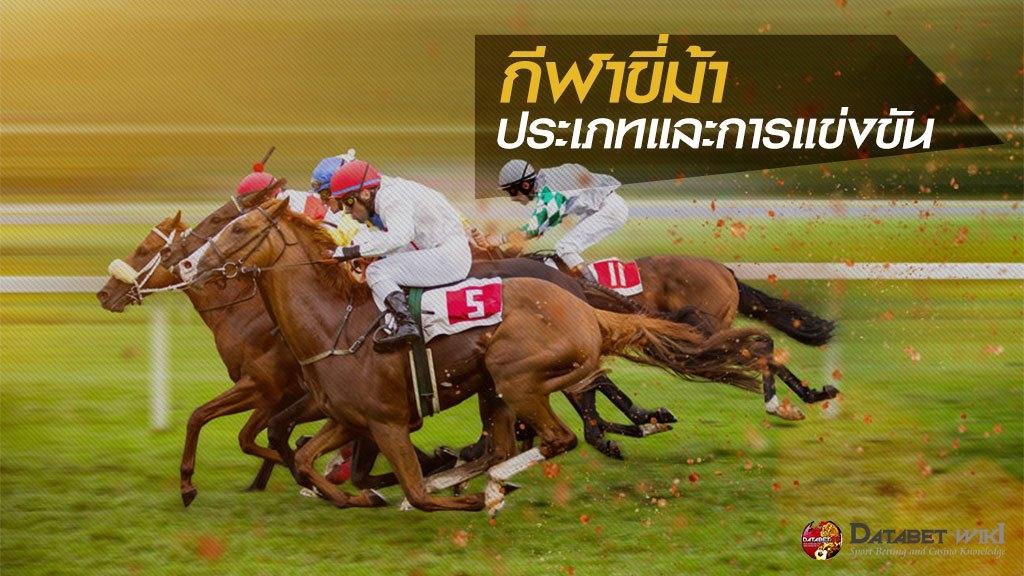 กีฬาขี่ม้า ประเภทและการแข่งขัน