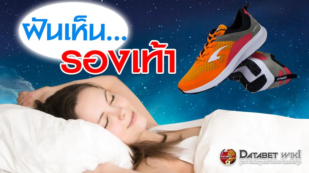 ฝันเห็นรองเท้า