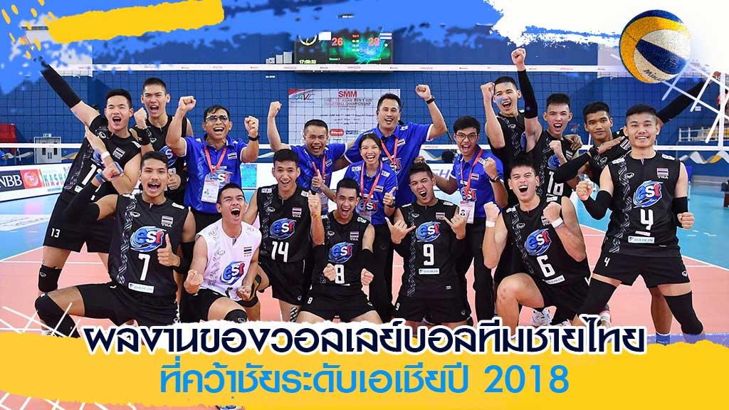 วอลเลย์บอลทีมชายไทย