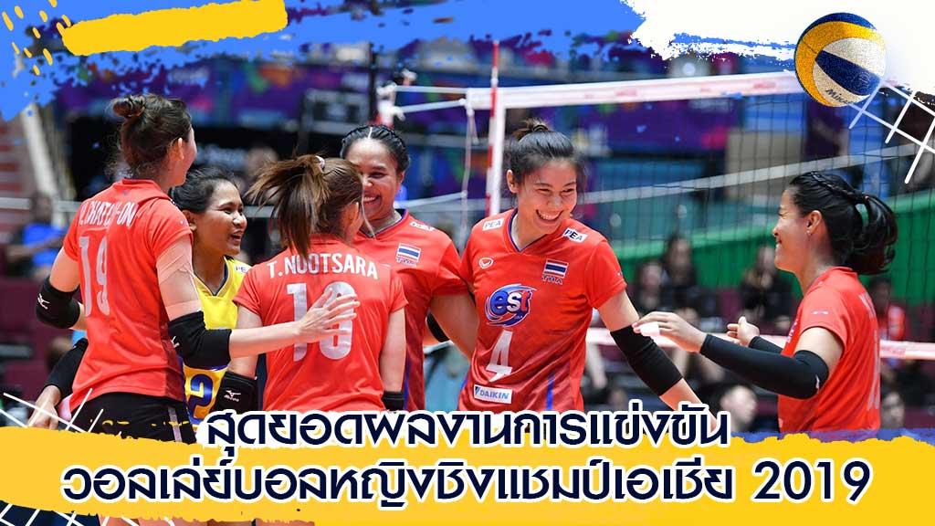 วอลเล่ย์บอลหญิงชิงแชมป์เอเชีย 2019