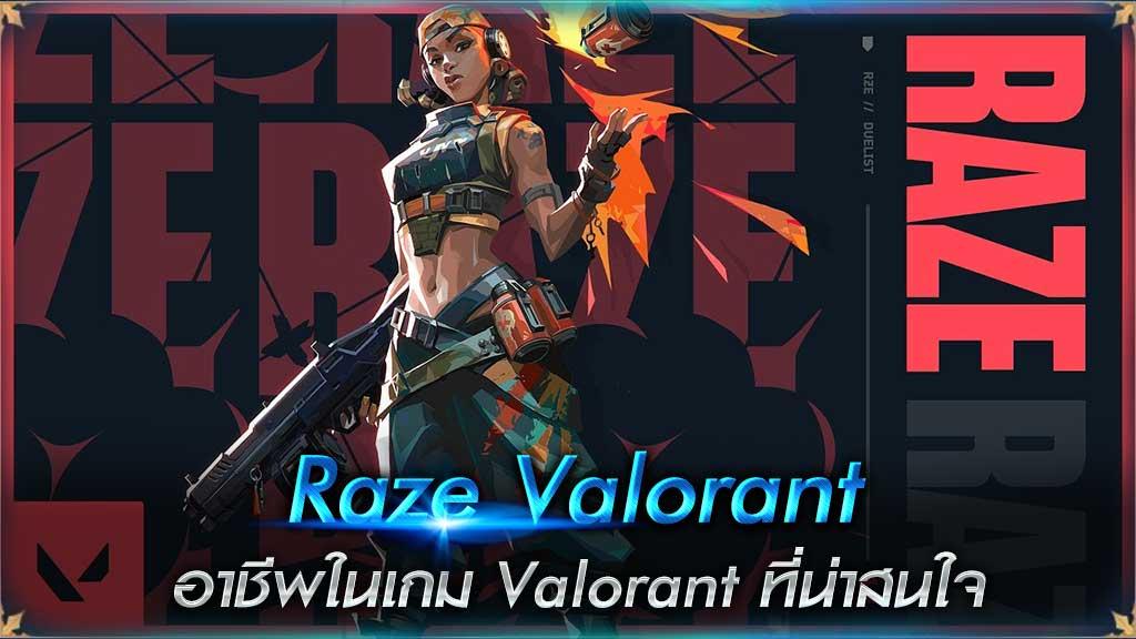Raze Valorant