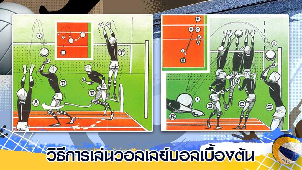 วิธีการเล่นวอลเลย์บอล