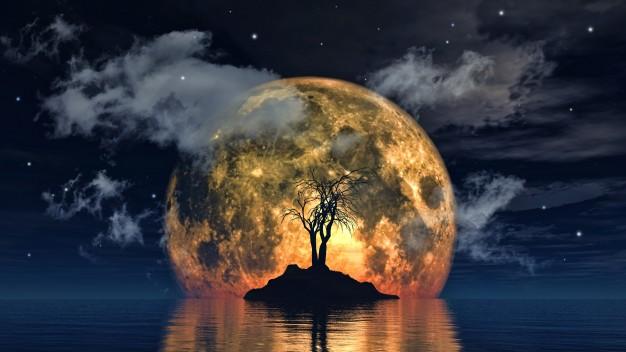 ฝันเห็นพระจันทร์