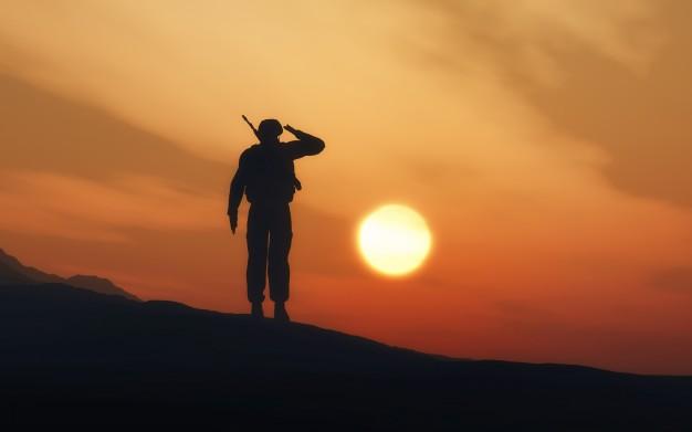 ฝันเห็นทหาร
