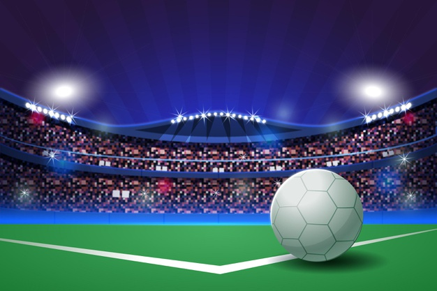 flat soccer football stadium illustration 52683 59800