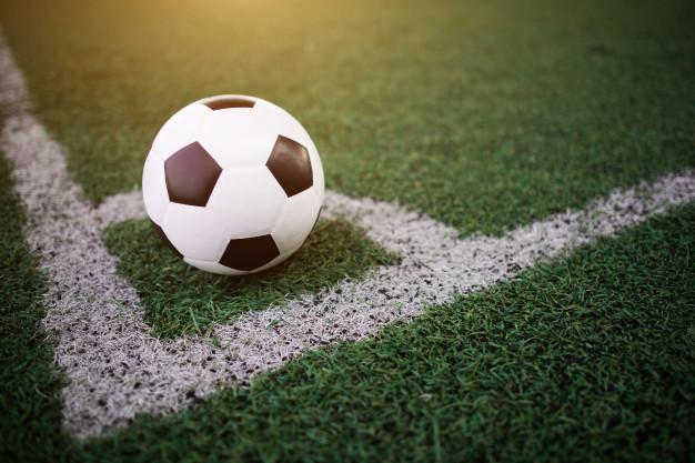 soccer ball white line stadium 1150 5285