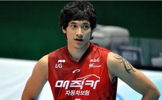 นักวอลเลย์บอลเกาหลีใต้