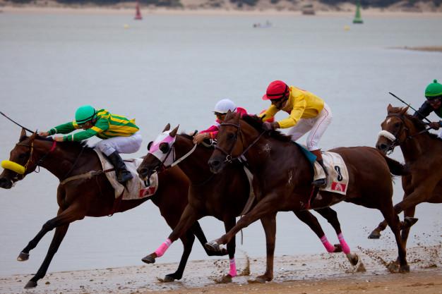 horse race sanlucar barrameda spain 87482 930