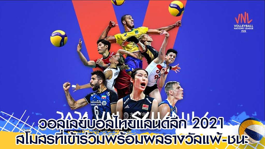 วอลเลย์บอลไทยแลนด์ลีก 2021